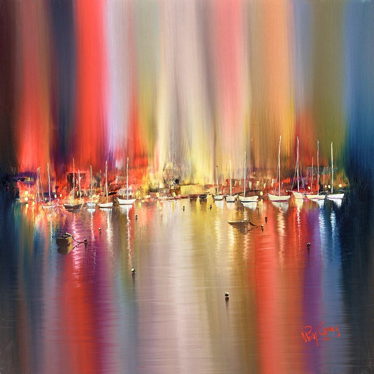 Shimmering Boats